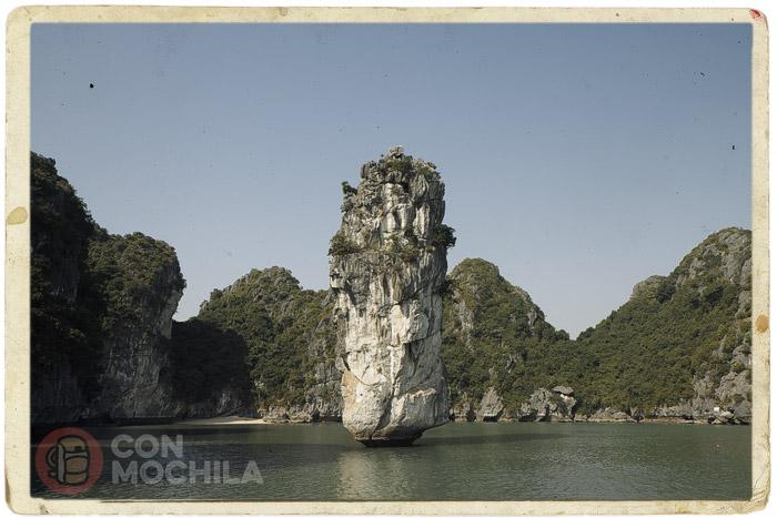 La roca llamada chopstick
