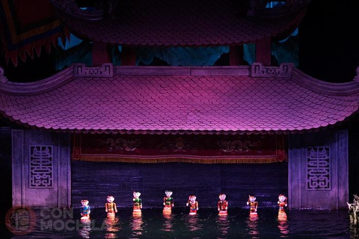 Las marionetas de agua de Hanoi