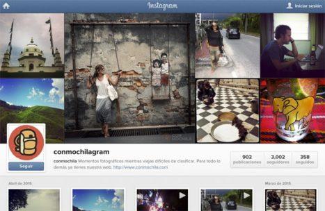 Nuestro perfil de Instagram