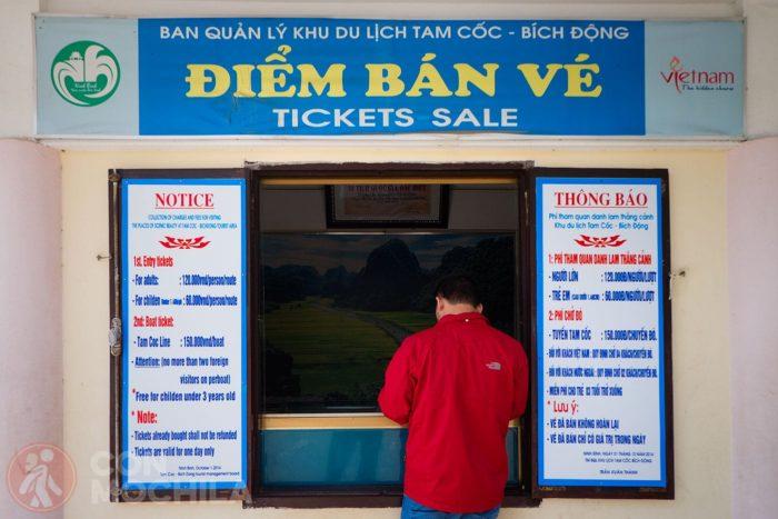Taquillas para comprar el ticket