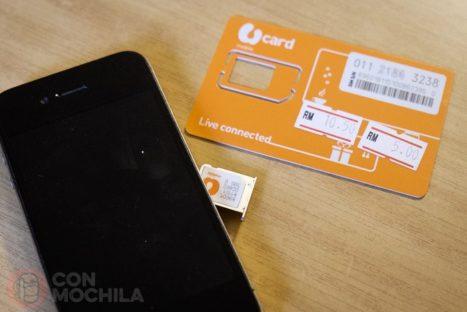 Tarjeta SIM de U Mobile
