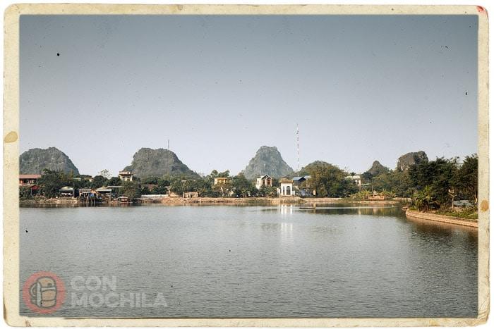Paisaje alrededor de la ciudadela Hoa Lu