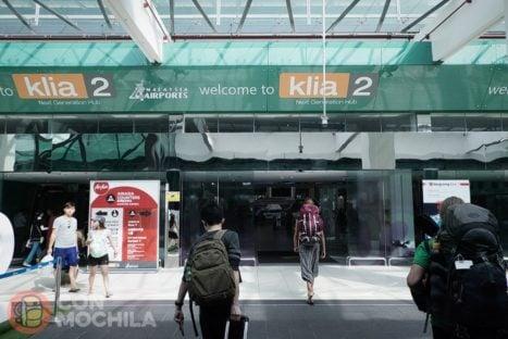 Entrada a la terminal KLIA2