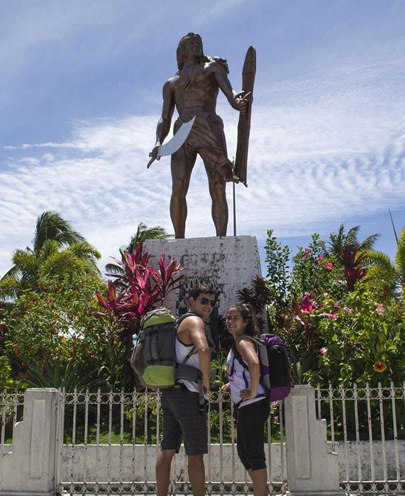 Eva y Rubén en Filipinas
