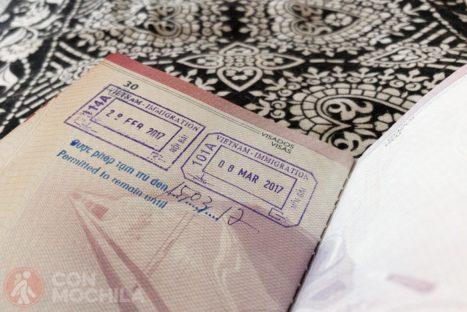 Visado de Vietnam para 15 días gratis