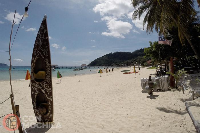 La playa de Salang