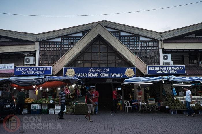 El mercado de Kuala Terengganu