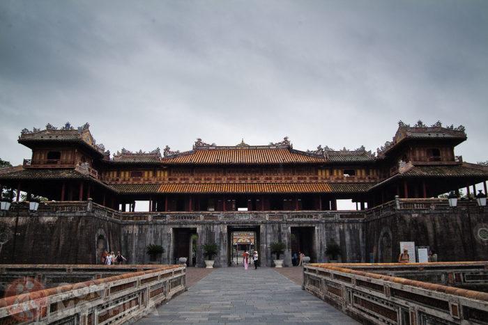 Puerta de Ngo Mon de la Ciudadela de Hué