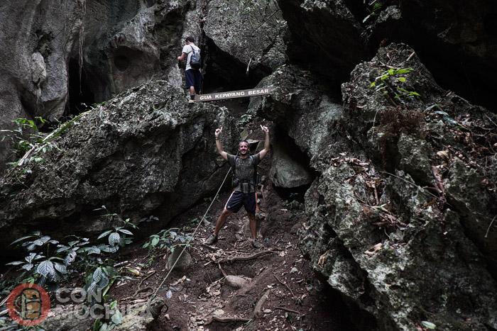 Llegada a la cueva