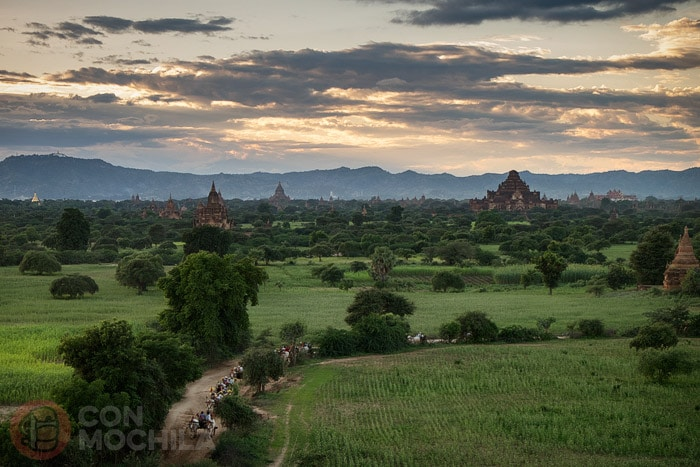 Los famosos templos de Bagan