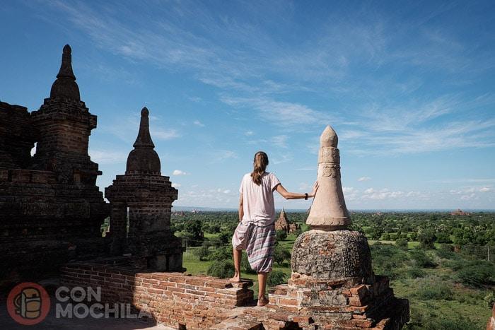 En otro templo con buenas vistas y completamente solos