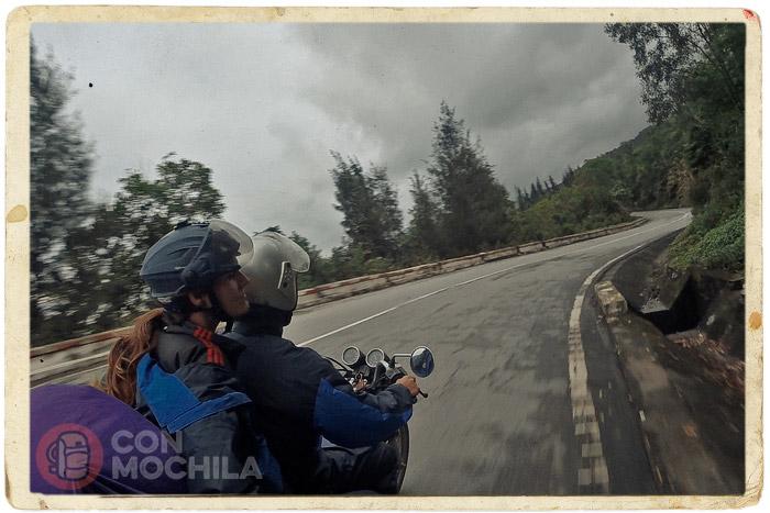 De ruta en dirección Hoi An