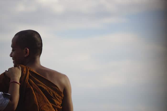Itinerario de viaje a Camboya: Monje en Camboya