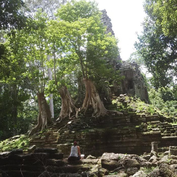 Itinerario de viaje a Camboya y Tailandia: El rincón que más nos enamoró del complejo de Angkor: Preah Palilay