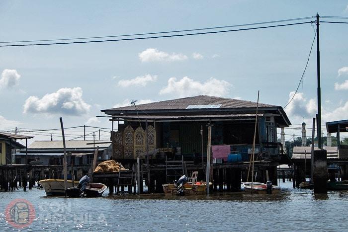 Otro tipo de casa flotante