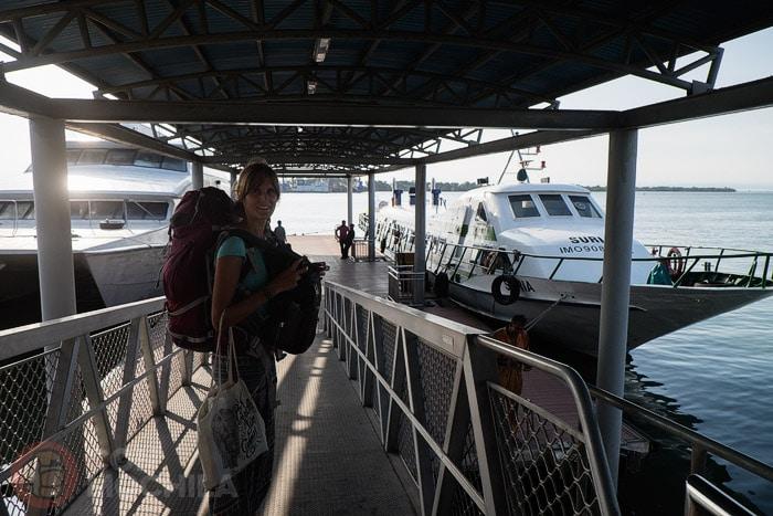 Nuestro ferry hasta Labuan