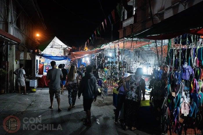 Mercado nocturno de Taal