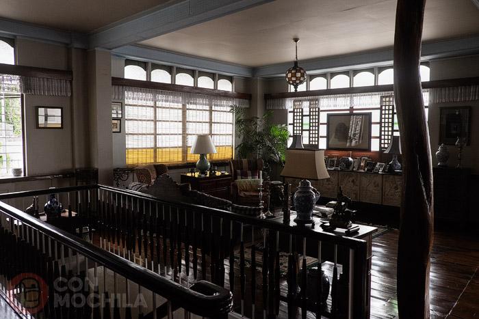 El salón de estar de Casa Conchita
