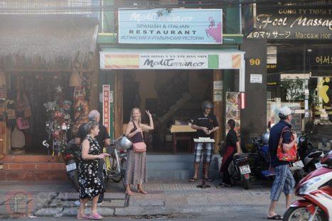 El restaurante Mediterraneo