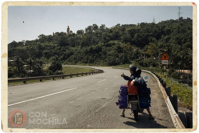 Al poco de salir de Quy Nhon