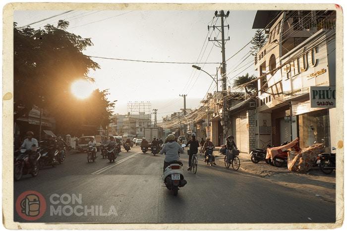 En busca del hotel en Nha Trang