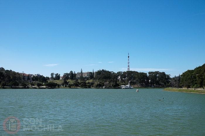 El lago de Da Lat