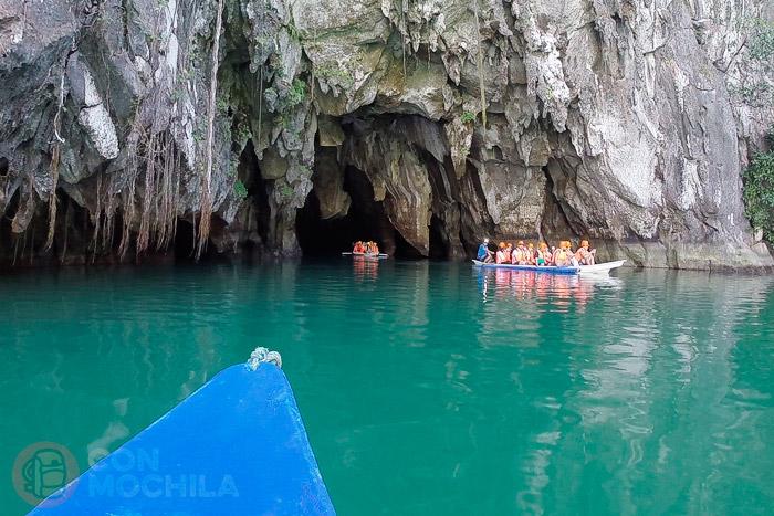 Entrada al río subterráneo de Puerto Princesa