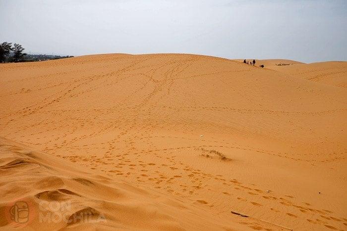 Las dunas de arena roja de Mui Ne