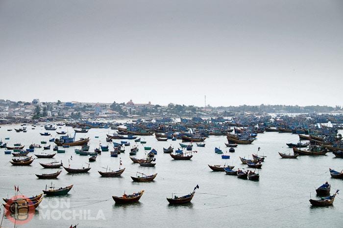 Las barcas de Mui Ne