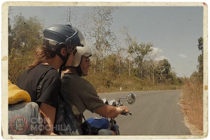 En ruta por la misma carretera