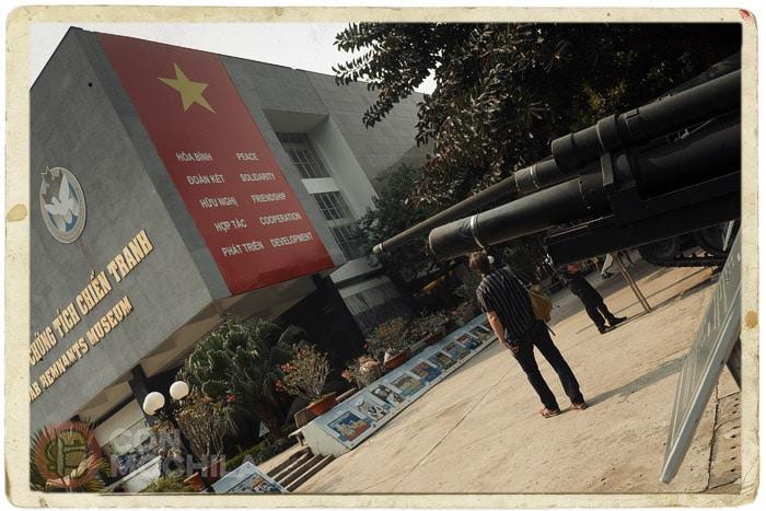 El muse de la guerra de Ho Chi Minh city