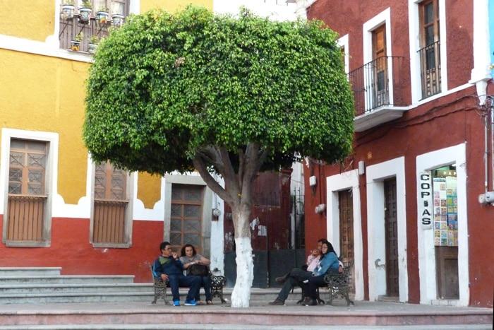Guanajuato, plazuela de los Ángeles