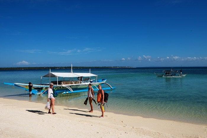 En Bantayan rumbo a Virgin island