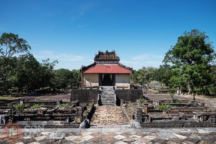 Tumba imperial de Thieu Tri