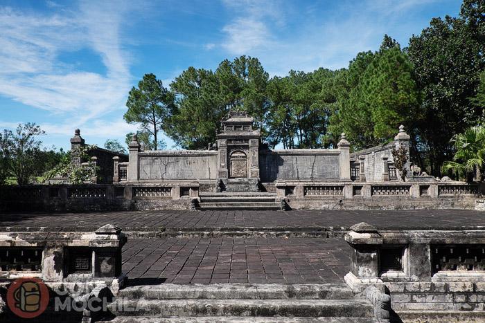 Tumba imperial de Dong Khanh