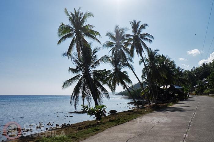 Típico paisaje de la isla