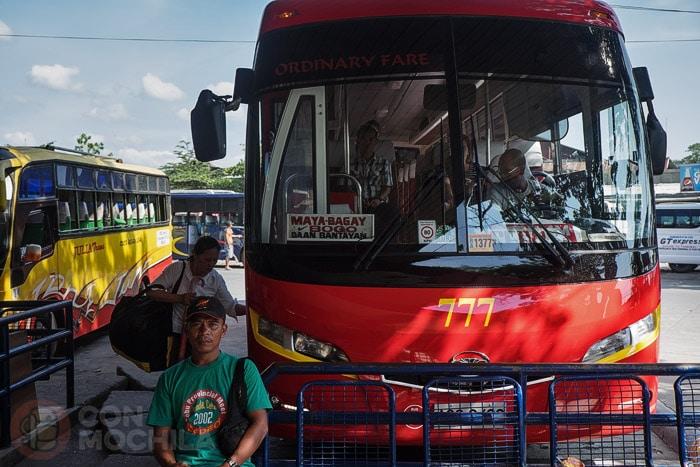 El bus que nos lleva a Danao