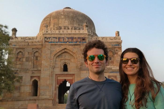 Itinerario de viaje a India: Una foto del principio. Todavía limpios, todavía con la mentalidad occidental