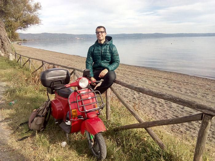 A orillas del lago Bolsena