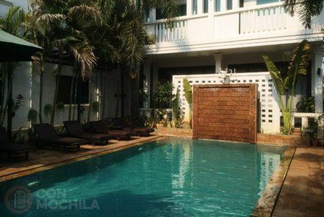La piscina del hotel