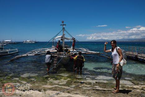¡Por fin en Apo island!