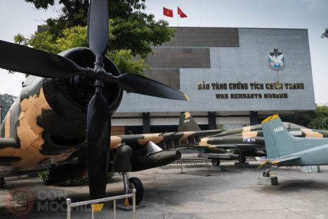 El museo de la guerra de Ho Chi Minh