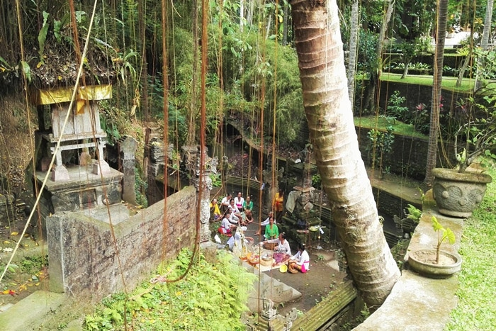 Cualquier rincón escondido en Ubud (Bali)