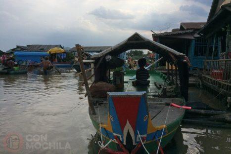 Pueblos flotantes del Tonle Sap