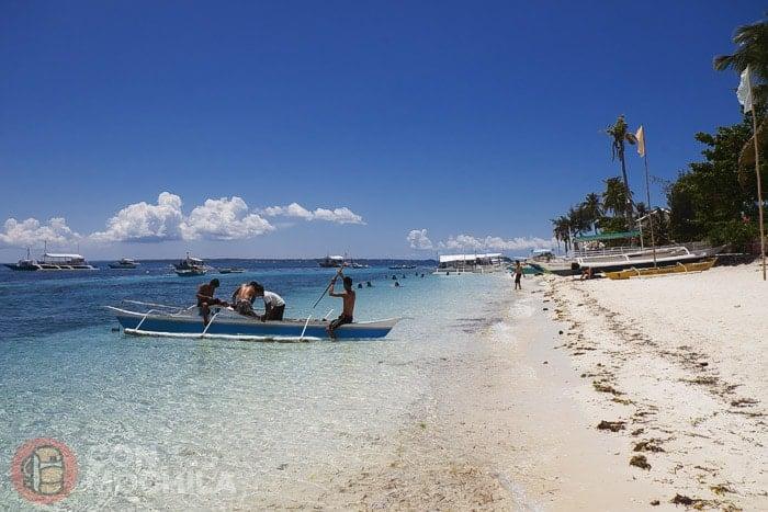 La playa de Malapascua