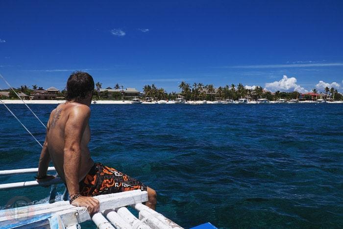 Dando la vuelta a la isla
