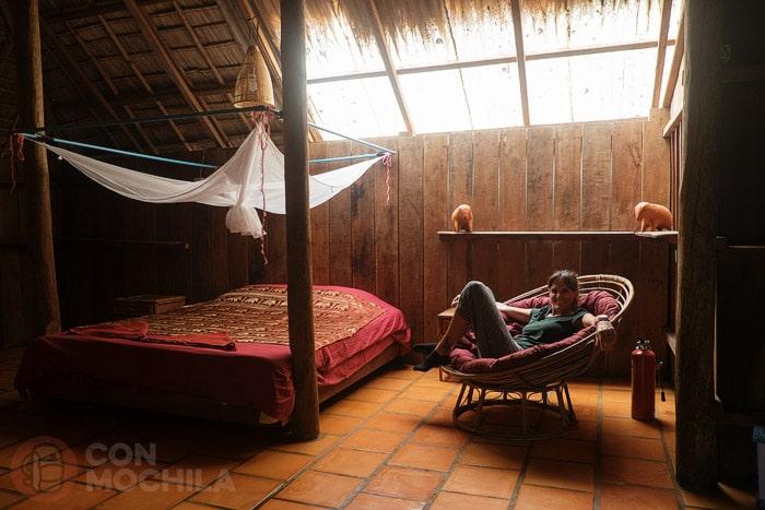 La bonita habitación