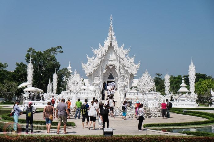 """Más conocido como """"El templo blanco"""""""