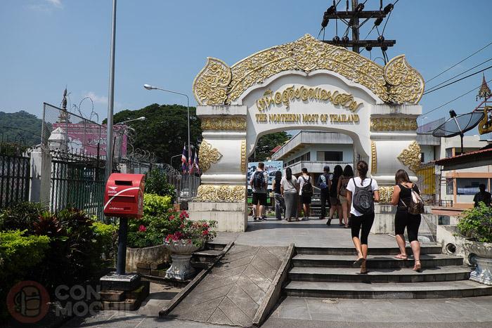 Punto más al norte de Tailandia