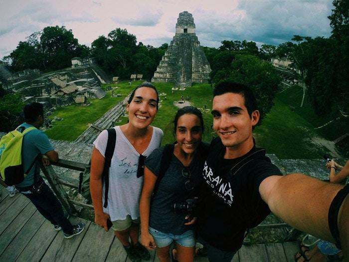 Itinerario de viaje a México y Guatemala: Ruinas mayas de Tikal